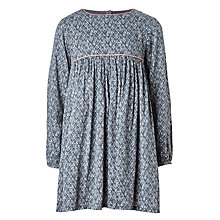 Buy Wheat Girls' Gudrun Dress, Blue Online at johnlewis.com