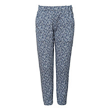 Buy Wheat Girls' Sonia Trousers, Blue Online at johnlewis.com