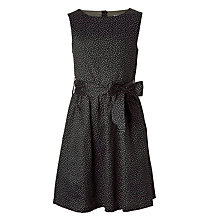 Buy Wheat Girls' Oda Dress, Blue Graphite Online at johnlewis.com