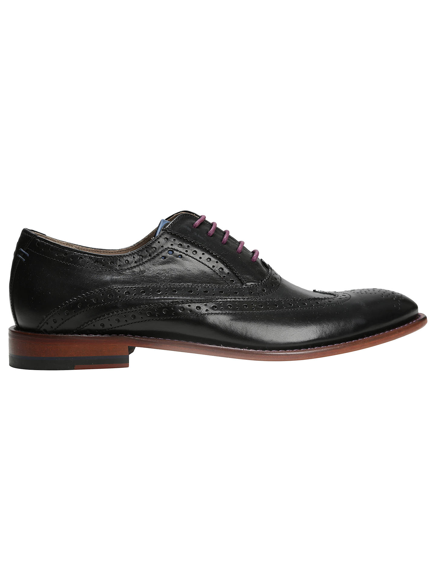 f1f8c467e9 Buy Oliver Sweeney Fellbeck Leather Lace-Up Brogues, Black, 7 Online at  johnlewis ...