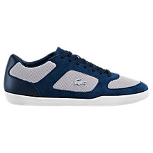 Buy Lacoste Court Minimal Trainers, Navy Online at johnlewis.com