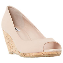 Buy Dune Cadence Peep Toe Wedge Heeled Sandals Online at johnlewis.com