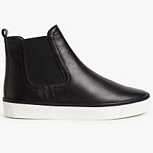 Buy Kin by John Lewis Philina Flatform Trainers, Black Online at johnlewis.com