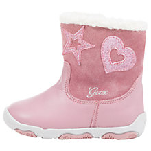 Buy Geox Children's Balu Boots, Pink Online at johnlewis.com