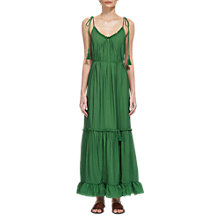 Buy Whistles Tassel Tie Detail Maxi Dress Online at johnlewis.com