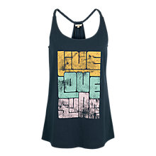 Buy Fat Face Live Love Surf Vest, Navy Online at johnlewis.com