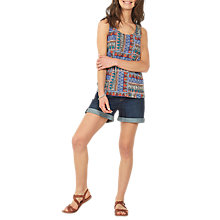 Buy Fat Face Eva Tribal Cami Online at johnlewis.com