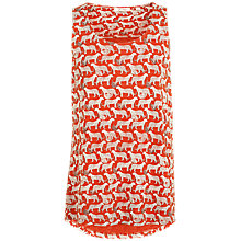 Buy Fat Face Eva Jungle Cat Cami, Orange Online at johnlewis.com