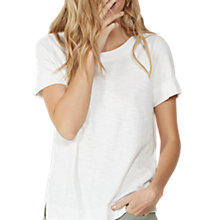 Buy Fat Face Fearne Woven Mix T-Shirt Online at johnlewis.com