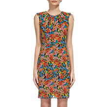 Buy Whistles Sicily Print Bodycon Dress, Multi Online at johnlewis.com