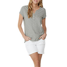 Buy Fat Face Tammy Cotton-Linen Stripe Henley T-Shirt Online at johnlewis.com