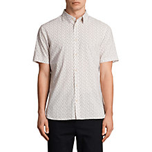 Buy AllSaints Erdman Print Short Sleeve Shirt Online at johnlewis.com