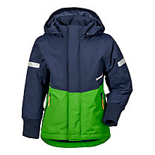 Buy Didriksons Harje Split Panel Jacket, Green Online at johnlewis.com