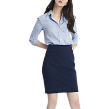 Buy Joules Penelope Jersey Pencil Skirt, French Navy Online at johnlewis.com