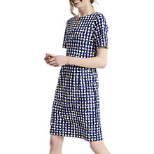Buy Joules Beth Dress, Navy Weave Online at johnlewis.com