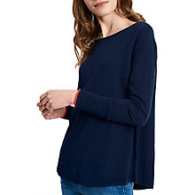 Buy Joules Tara Curved Hem Jumper Online at johnlewis.com