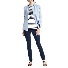 Buy Joules Lucie Chambray Shirt, Blue Online at johnlewis.com