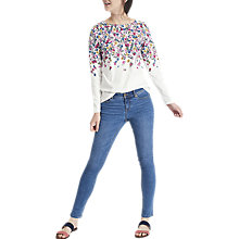 Buy Joules Monroe Skinny Jeans, Fresh Blue Online at johnlewis.com