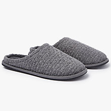 Buy John Lewis Basketweave Mule Slippers Online at johnlewis.com
