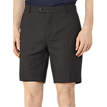 Buy Reiss Empire Fine Dot Shorts, Black Online at johnlewis.com