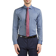 Buy HUGO by Hugo Boss C-Jason Slim Fit Shirt, Blue Online at johnlewis.com