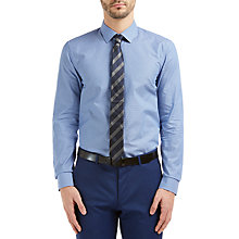 Buy HUGO by Hugo Boss C-Jenno Slim Fit Shirt, Navy Online at johnlewis.com