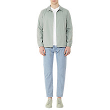 Buy Reiss Magna Coach Jacket, Mint Online at johnlewis.com