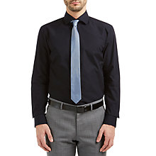 Buy HUGO by Hugo Boss Ceraldi Regular Shirt, Black Online at johnlewis.com
