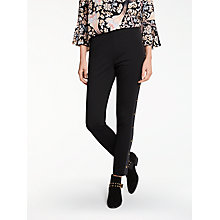 Buy Somerset by Alice Temperley Ponte Stud Trim Leggings, Black Online at johnlewis.com
