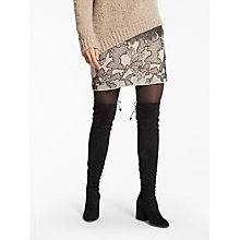 Buy Modern Rarity Beaded Mini Skirt, Neutral Online at johnlewis.com