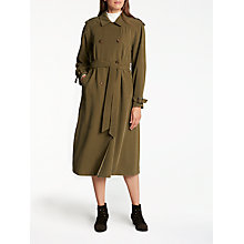 Buy Somerset by Alice Temperley Trench Coat, Khaki Online at johnlewis.com