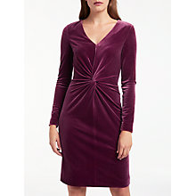 Buy Bruce by Bruce Oldfield Twist Velvet Dress Online at johnlewis.com