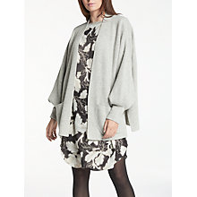 Buy Modern Rarity Cashmere Cardigan, Mid Grey Online at johnlewis.com