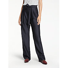 Buy Modern Rarity Paper Bag Trousers, Navy Online at johnlewis.com