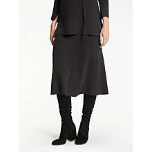 Buy Modern Rarity Knit Skirt, Charcoal Online at johnlewis.com
