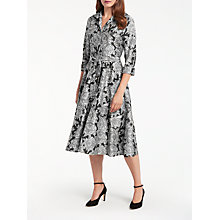 Buy Bruce by Bruce Oldfield Jacquard Dress, Black/Multi Online at johnlewis.com
