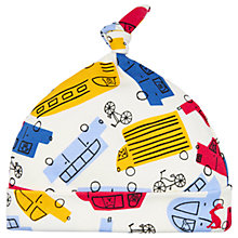 Buy Baby Joule Koo Knit Car Hat, Yellow/Multi Online at johnlewis.com