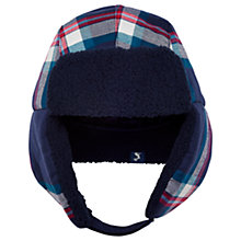 Buy Baby Joule Vermont Trap Hat, French Navy Online at johnlewis.com