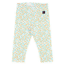 Buy Polarn O. Pyret Baby Floral Leggings, Green/Multi Online at johnlewis.com