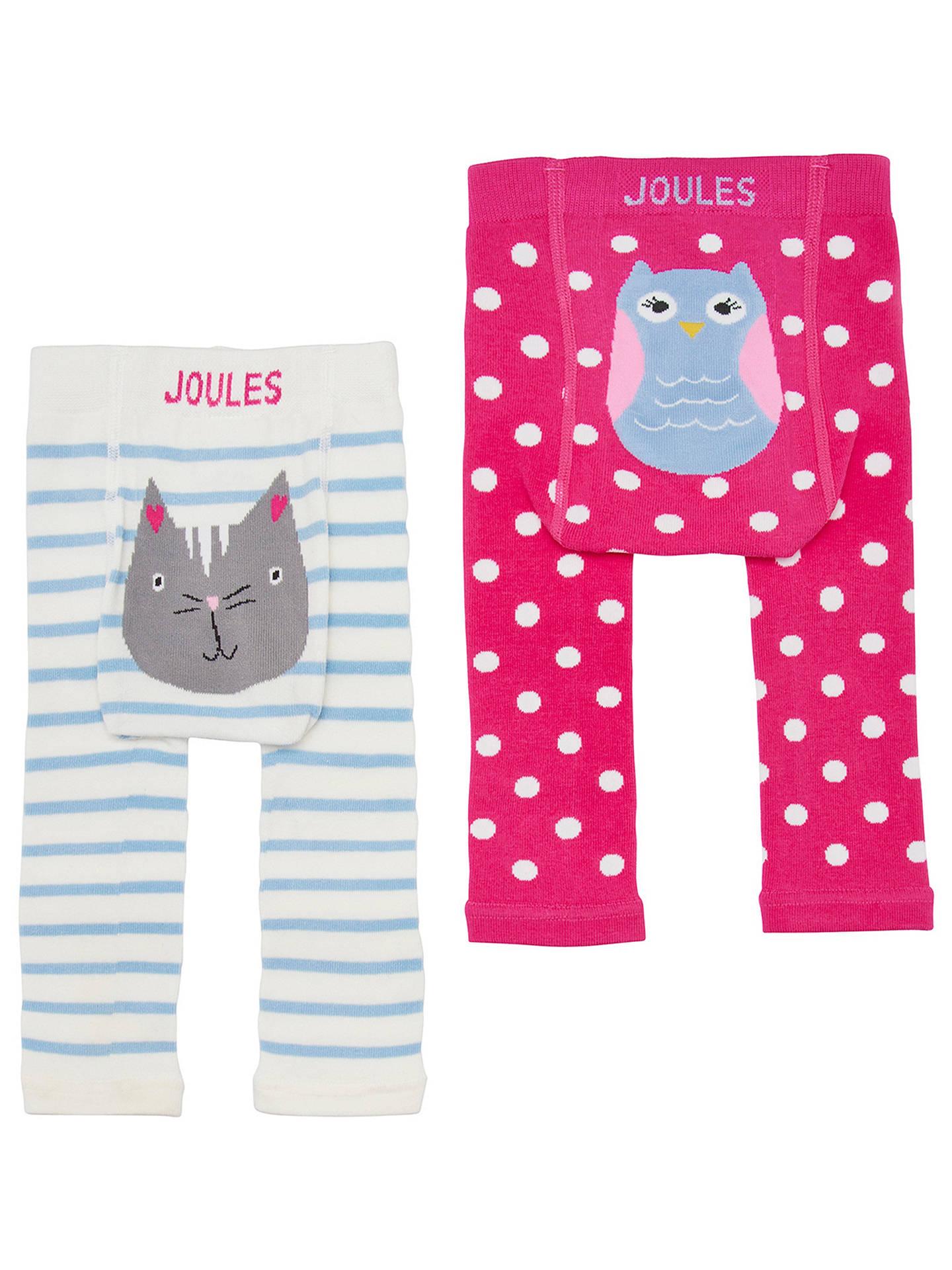 Baby Girl Cotton Footless Leggings Trousers Elasticated Waist Dark Pink  68 cm