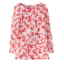 Buy Baby Joule Harbour Ditsy Top, Cream/Pink Online at johnlewis.com