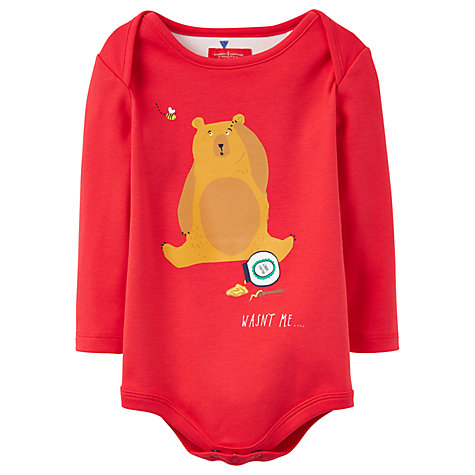 Image result for Body - Joules Baby Snazzy Red Bear - 0-3, 9-12, 12-18, 18-24m