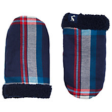Buy Baby Joule Vermont Mittens, Navy Online at johnlewis.com