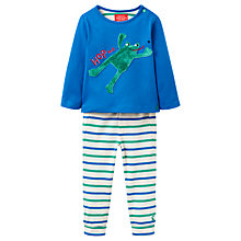 Buy Baby Joule Byron Pyjama Set, Green/Multi Online at johnlewis.com