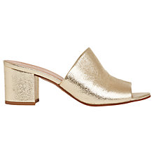 Buy Whistles Amberley Block Heeled Mule Sandals Online at johnlewis.com