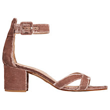 Buy Whistles Marquis Block Heeled Sandals Online at johnlewis.com