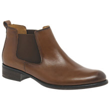 Buy Gabor Zodiac Block Heeled Ankle Boots, Tan Online at johnlewis.com