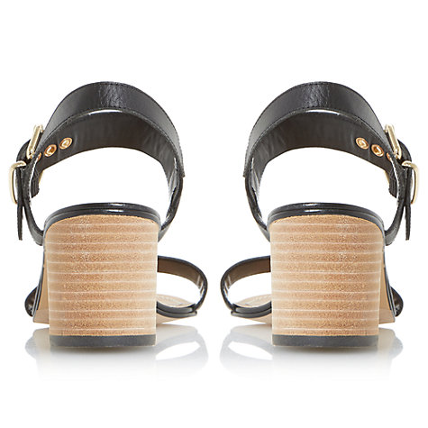 Buy Dune Jany Buckle Block Heeled Sandals Online at johnlewis.com