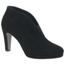 Buy Gabor Amien Cone Heeled Shoe Boots, Black Online at johnlewis.com