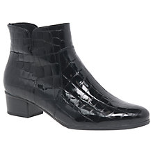 Buy Gabor Delaware Block Heeled Ankle Boots Online at johnlewis.com